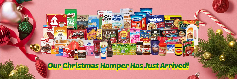 Christmas hamper banner